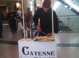"""Messetheke """"CAYENNE - Steakhouse"""""""