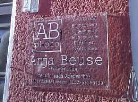 Anja Beuse - Lichtwerbeanlage + Acrylschild 2