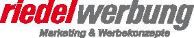 riedelwerbung – Werbeschilder, Werbeanlagen, Drucksachen, Fahrzeugbeschriftungen, Gerüstplanen, klassische Werbung